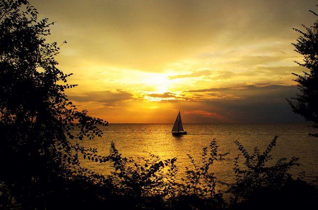 Sunset in Savudrija Istria