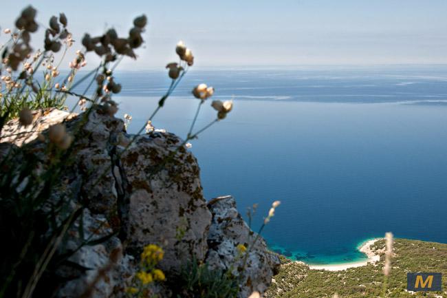 Island of Cres- sandy beach