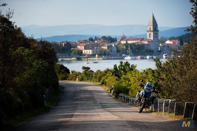 Losinj- Adriatic Motorbike road