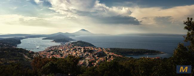 View of Mali Losinj, Croatia