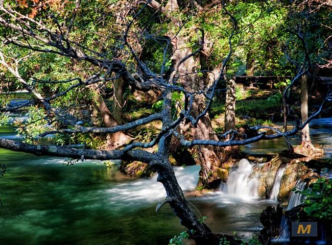 National Park Krka cascades
