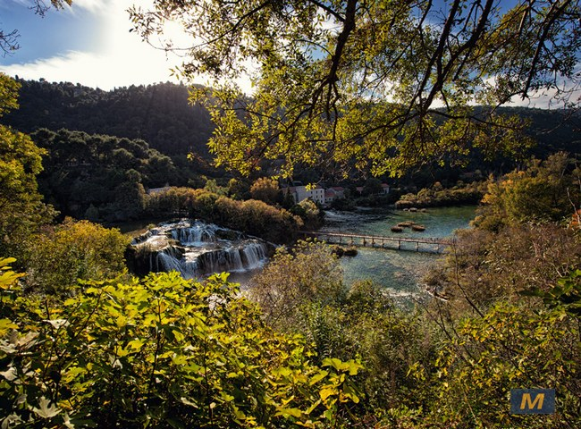 Skradinski buk, Krka waterfalls
