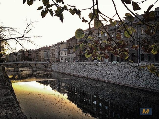Sarajevo Miljacka river