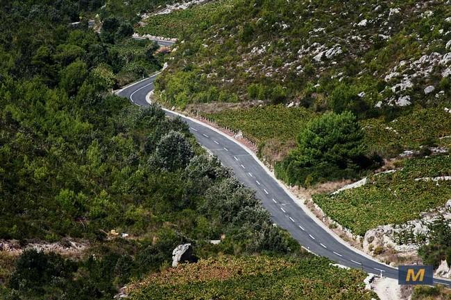 Island of Peljesac motorcycle road