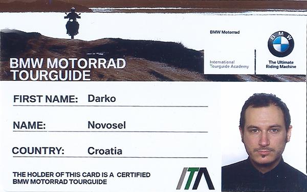 BMW-ITA-Card Darko Novosel