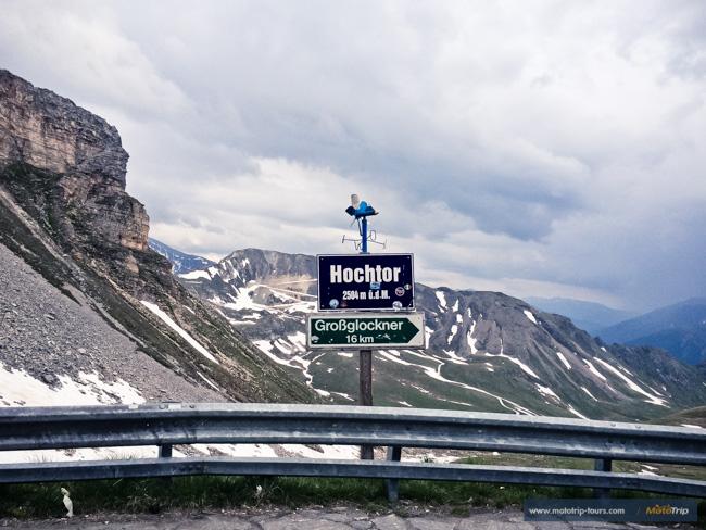 Hochtor pass on Grossglockner