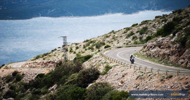 Adriatic coastal road