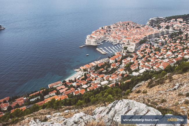 City of Dubrovnik, view from Srdj mountain
