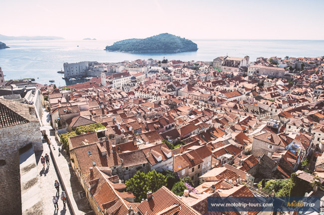 Dubrovnik from walls