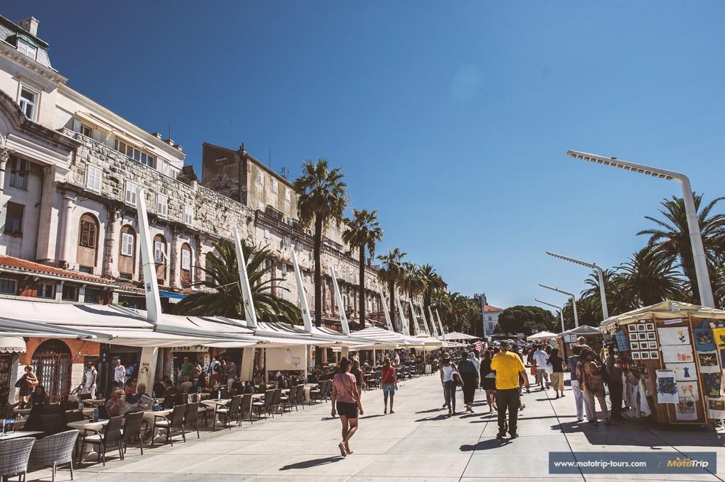City of Split- promenade