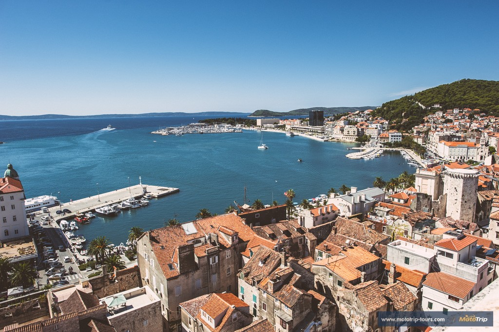 City of Split from above