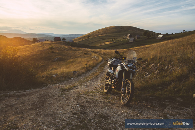 Villages in Albania (BMW F800GS)