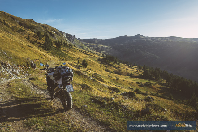 Enduro motorcycle tour in Albania/Montenegro