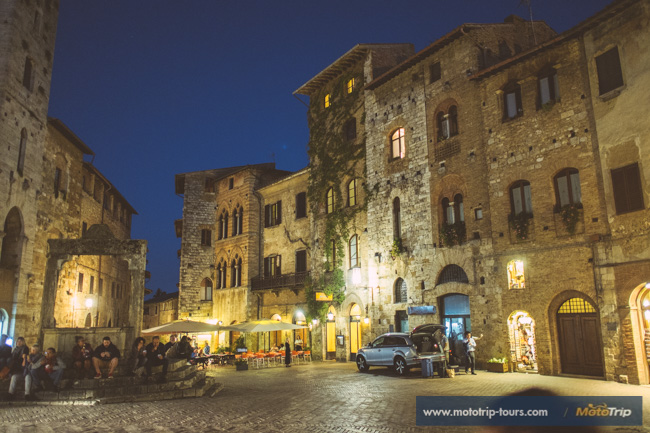 San Gimignano at night