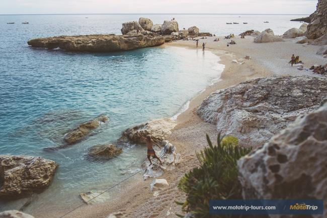 Perfect beaches on Sardinia
