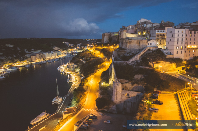 Night view of Bonifacio