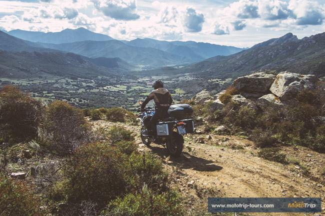 Off-road R1200GS in Corsica