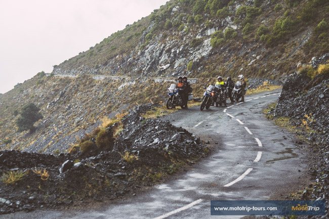 Challenging motorcycle roads on Corsica