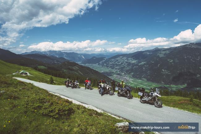 Motorcycle tours along backroads in Austria