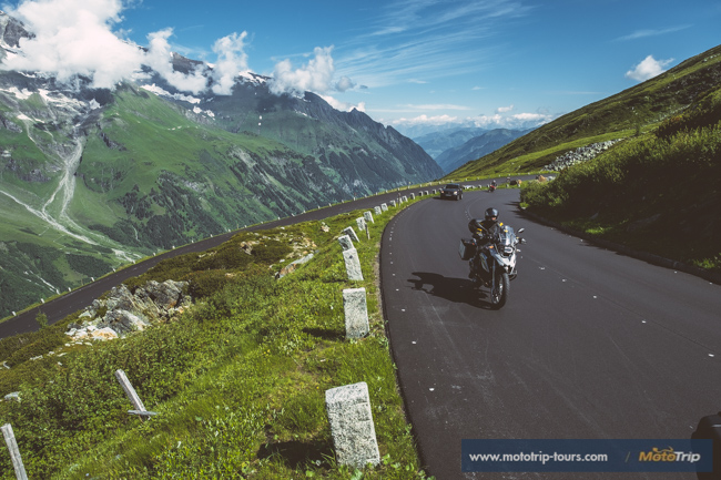 Riding the Grossglockner High Alpine road