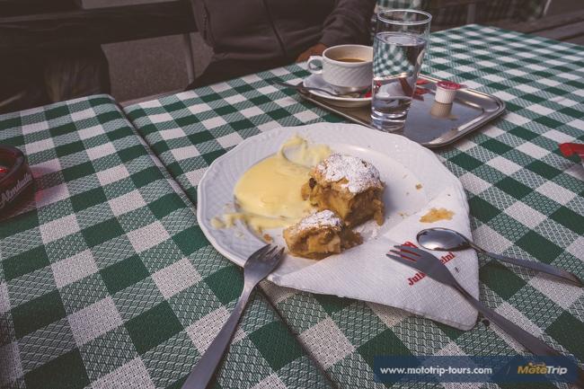 Apfelstrudel in Austria