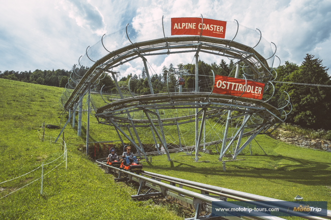 Rollercoaster in the Alps