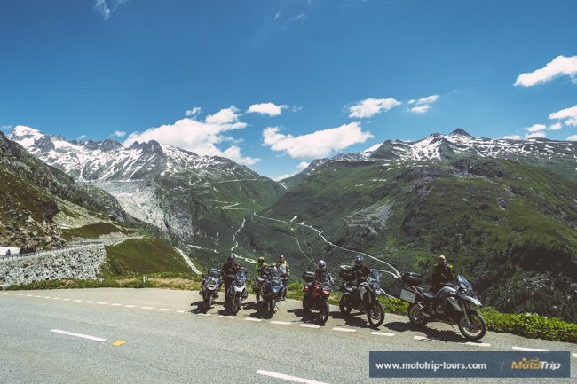 Motorcycle tours in Switzerland