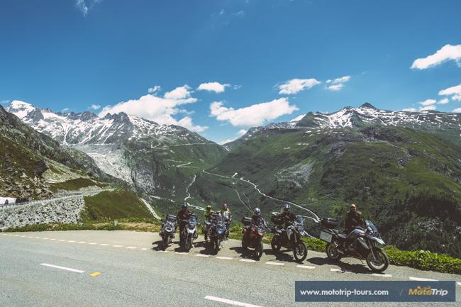 Motorcycle tours in Switzerland