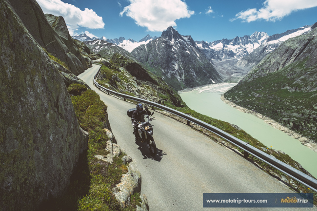 Motorcycle tours in Swiss Alps