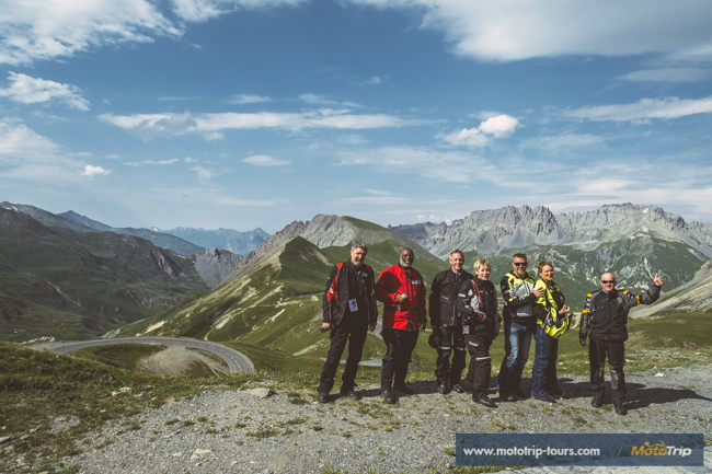 Motorcycle tours along Col du Galibier