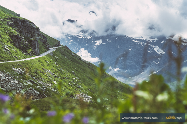 Beautiful Alpine roads for motorcycle tours