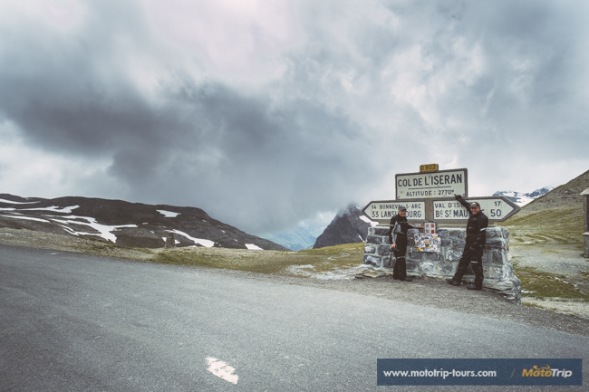 Col de lIseran, highest paved mountain pass in the Alps