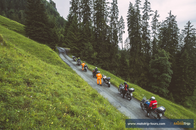 Less known mountain passes in the Alps