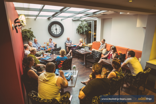 Group briefing Greece to Croatia tour