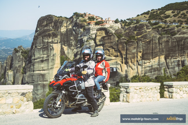 BMW R1200GS in Meteora