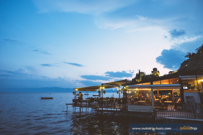 Beautiful restaurant in Ohrid