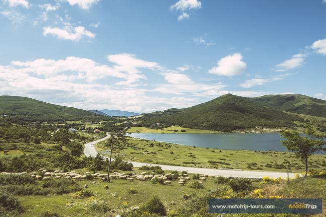 Albania, beautiful motorcycle roads
