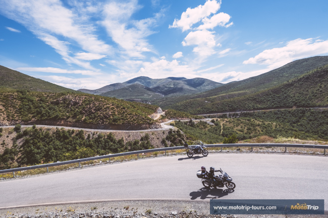 Albania motorcycle roads