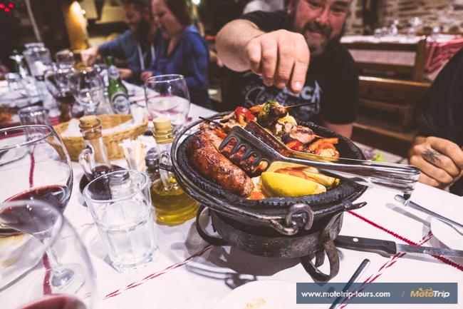 Greece to Croatia, food