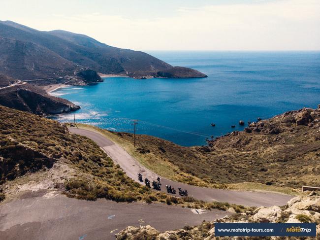 Mani- motorcycle roads in Greece