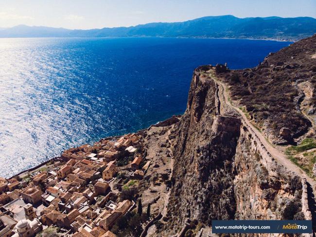 MotoTrip- Greece Monemvasia
