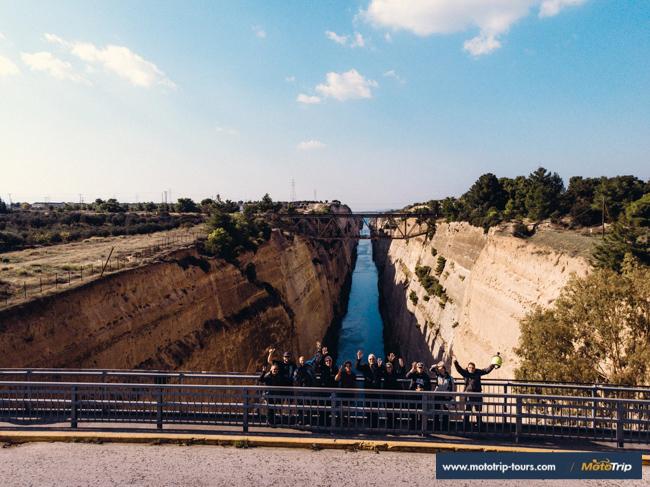 MotoTrip- Corinth canal
