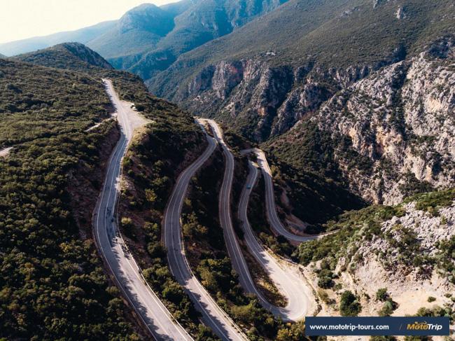 Motorcycle roads in Greece- Peloponnese