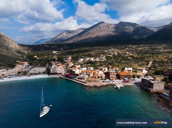 Greece motorcycle roads- Mani peninsula