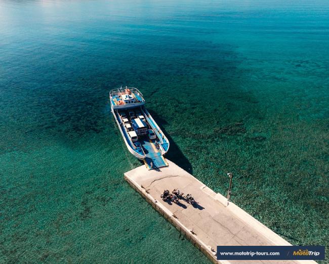 MotoTrip- ferry in Greece
