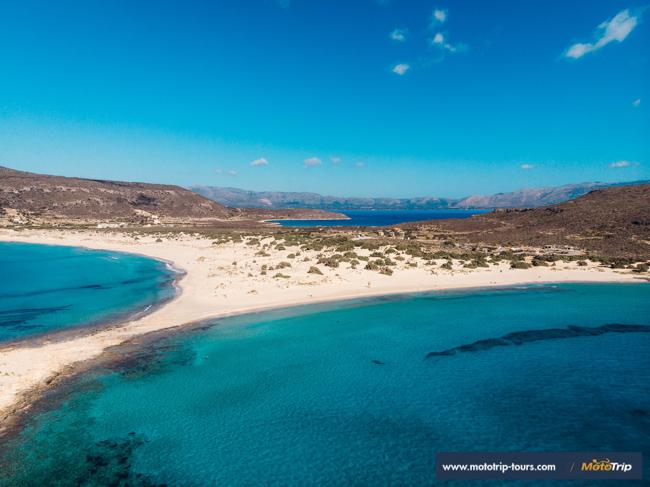 MotoTrip- beautiful Simos beach