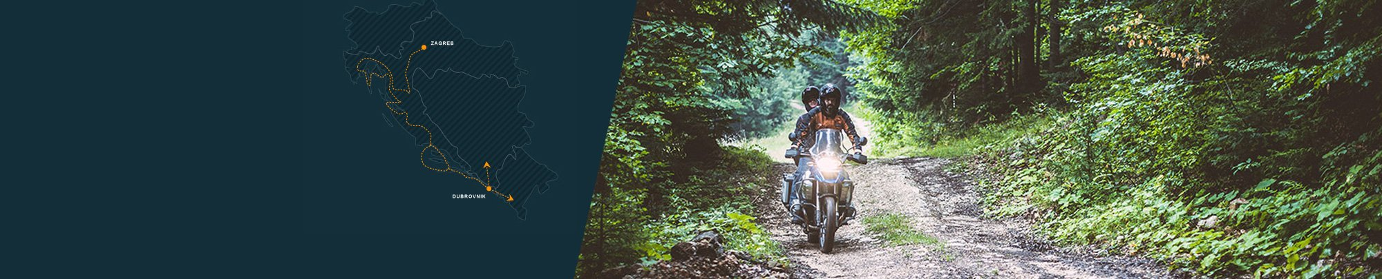 Secrets of Magical Croatia - off-road motorcycle tour in Croatia