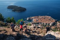 City of Dubrovnik- view from Srd