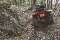 Spicing up the adventure with ATV ride