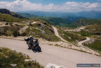 Durmitor mountain with F750GS